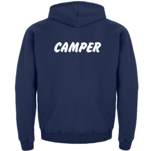 Simples Shirt mit der Mission: Camper - Kinder Hoodie-1676
