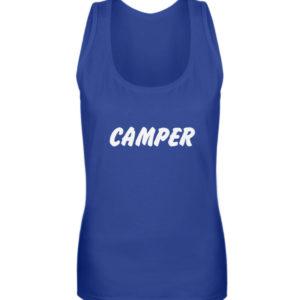 Simples Shirt mit der Mission: Camper - Frauen Tanktop-27