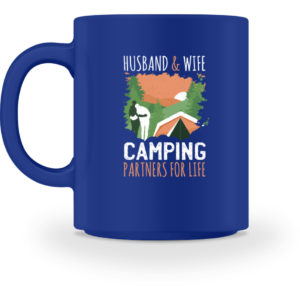 Husband & Wife Camping Partners For Life - Tasse-27