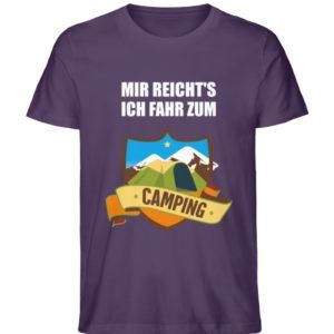 Mir reicht-s ich fahr zum Camping - Herren Premium Organic Shirt-6884