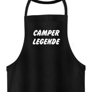 Camper Legende Geschenkidee Camping - Hochwertige Grillschürze-16