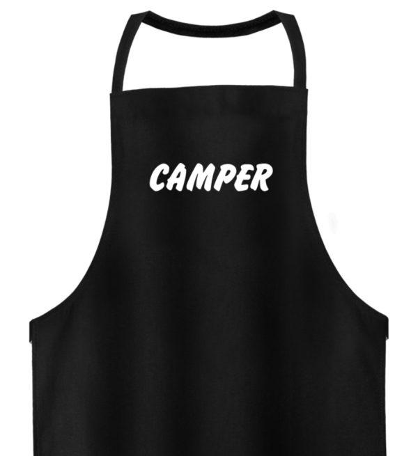 Simples Shirt mit der Mission: Camper - Hochwertige Grillschürze-16