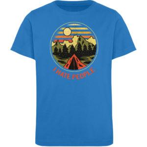 I Hate People Camper-Design - Kinder Organic T-Shirt-6886