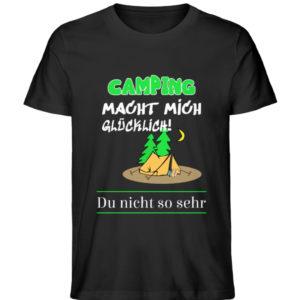 Camping macht mich glücklich - Herren Premium Organic Shirt-16