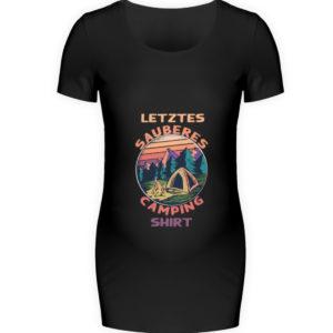 Spruch Sauberes Capingshirt Geschenkidee - Schwangerschafts Shirt-16