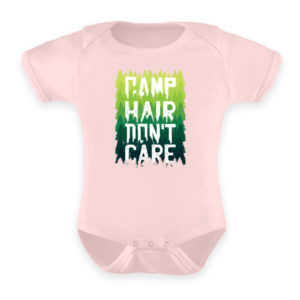 Camp Hair Don-t Care Geschenkidee - Baby Body-5949