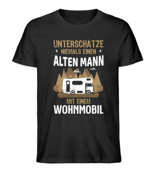 "Camper Wohnmobil ""Alter Mann"" - Shirt - Herren Premium Organic Shirt-16"