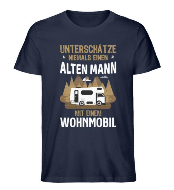 "Camper Wohnmobil ""Alter Mann"" - Shirt - Herren Premium Organic Shirt-6887"