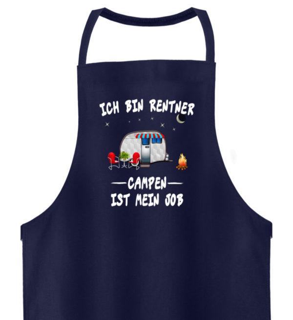 Ich bin Rentner - Campen ist mein Job - Hochwertige Grillschürze-198