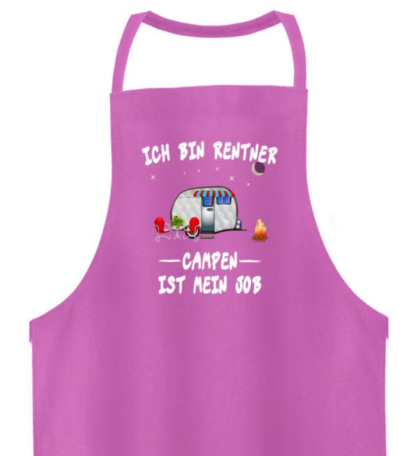 Ich bin Rentner - Campen ist mein Job - Hochwertige Grillschürze-5759