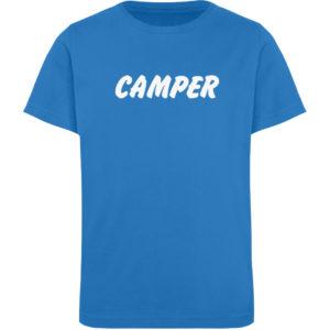 Simples Shirt mit der Mission: Camper - Kinder Organic T-Shirt-6886