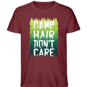 Camp Hair Don-t Care Geschenkidee - Herren Premium Organic Shirt-6883