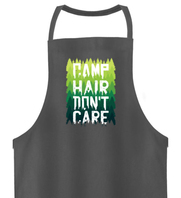 Camp Hair Don-t Care Geschenkidee - Hochwertige Grillschürze-6778