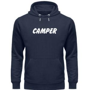 Simples Shirt mit der Mission: Camper - Unisex Organic Hoodie-6887