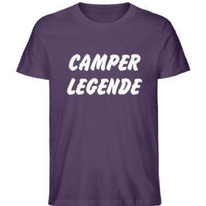 Camper Legende Geschenkidee Camping - Herren Premium Organic Shirt-6884