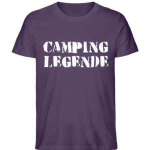 Camping Legende Geschenkidee Camper - Herren Premium Organic Shirt-6884