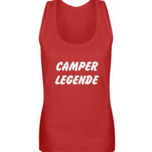 Camper Legende Geschenkidee Camping - Frauen Tanktop-4