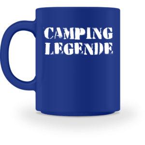 Camping Legende Geschenkidee Camper - Tasse-27