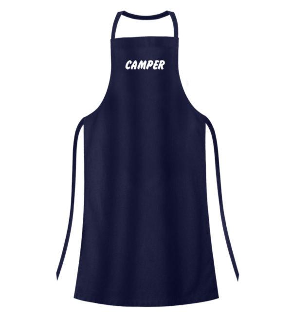 Simples Shirt mit der Mission: Camper - Hochwertige Grillschürze-198