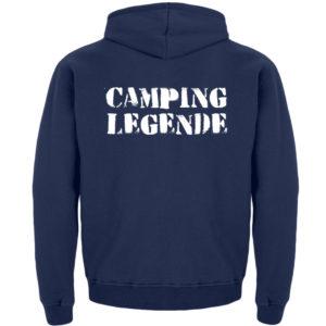 Camping Legende Geschenkidee Camper - Kinder Hoodie-1676