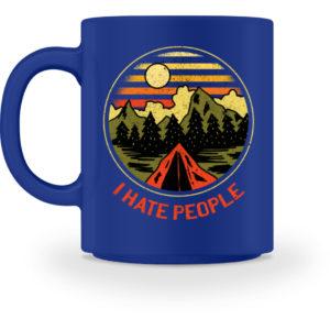 I Hate People Camper-Design - Tasse-27