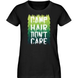 Camp Hair Don-t Care Geschenkidee - Damen Premium Organic Shirt-16