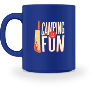 Camping is Fun Schürze - Tasse-27