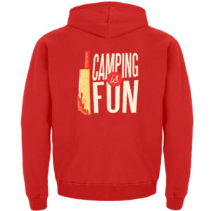 Camping is Fun Schürze - Kinder Hoodie-1565