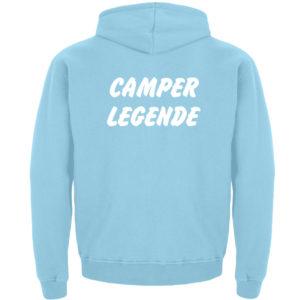 Camper Legende Geschenkidee Camping - Kinder Hoodie-674
