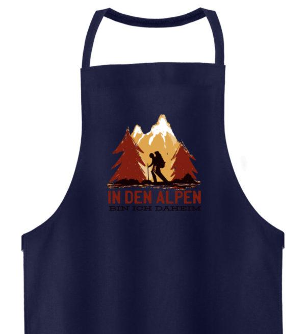 In den Alpen bin ich daheim Geschenkidee - Hochwertige Grillschürze-198