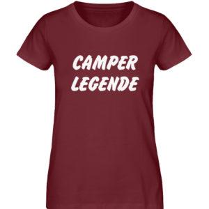 Camper Legende Geschenkidee Camping - Damen Premium Organic Shirt-6883