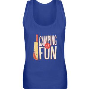 Camping is Fun Schürze - Frauen Tanktop-27