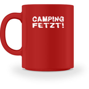 Camping fetzt! | Geschenkidee - Tasse-4