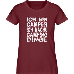 Camper machen Camping-Dinge | Geschenk - Damen Premium Organic Shirt-6883