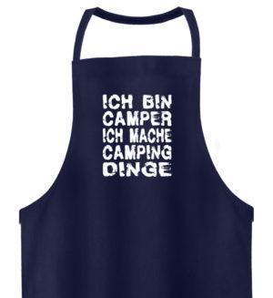 Camper machen Camping-Dinge | Geschenk - Hochwertige Grillschürze-198
