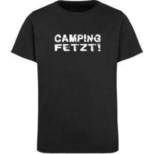 Camping fetzt! | Geschenkidee - Kinder Organic T-Shirt-16