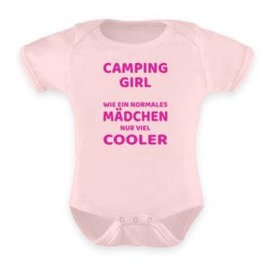 Camping Girl | Geschenkidee - Baby Body-5949