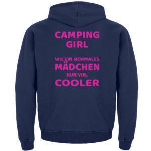 Camping Girl | Geschenkidee - Kinder Hoodie-1676