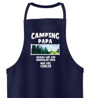 Camping Papa Shirt Geschenkidee - Hochwertige Grillschürze-198