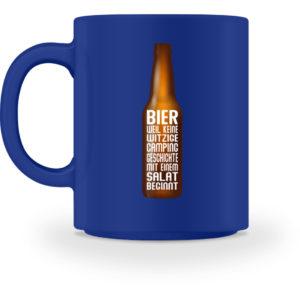 Bier Campinggeschichte | Geschenkidee - Tasse-27