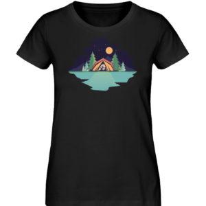 Campingurlaub Familie im Zelt Geschenk - Damen Premium Organic Shirt-16