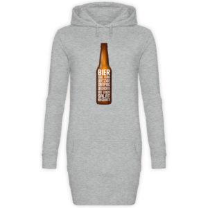 Bier Campinggeschichte | Geschenkidee - Damen Hoodie-Kleid-6807