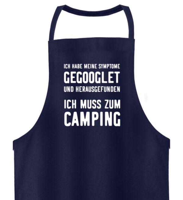 Camping Symptome! | Geschenkidee - Hochwertige Grillschürze-198