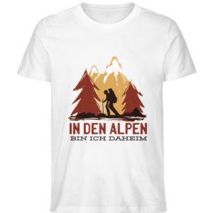 In den Alpen bin ich daheim Geschenkidee - Herren Premium Organic Shirt-3