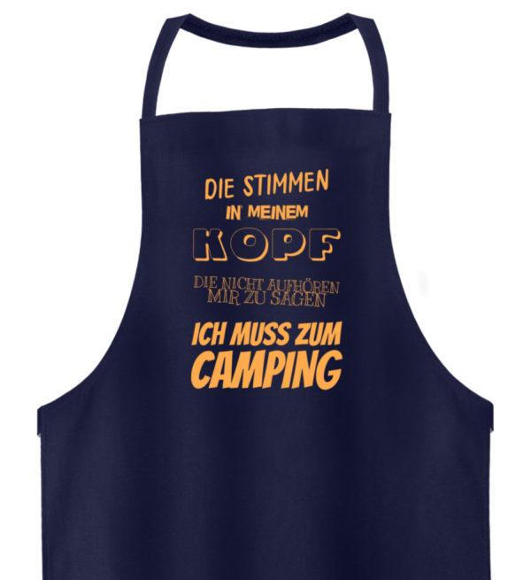 Stimmen in meinem Kopf Muss zum Camping - Hochwertige Grillschürze-198