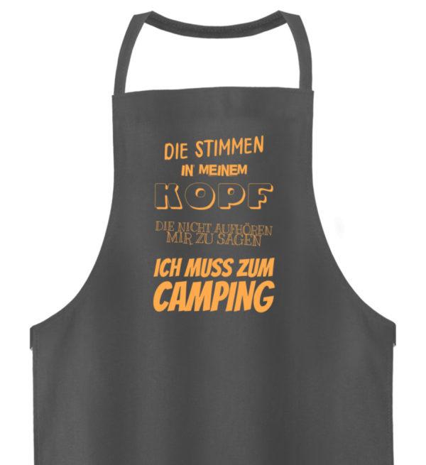 Stimmen in meinem Kopf Muss zum Camping - Hochwertige Grillschürze-6778