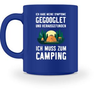 Symptome Camping | Geschenkid - Tasse-27