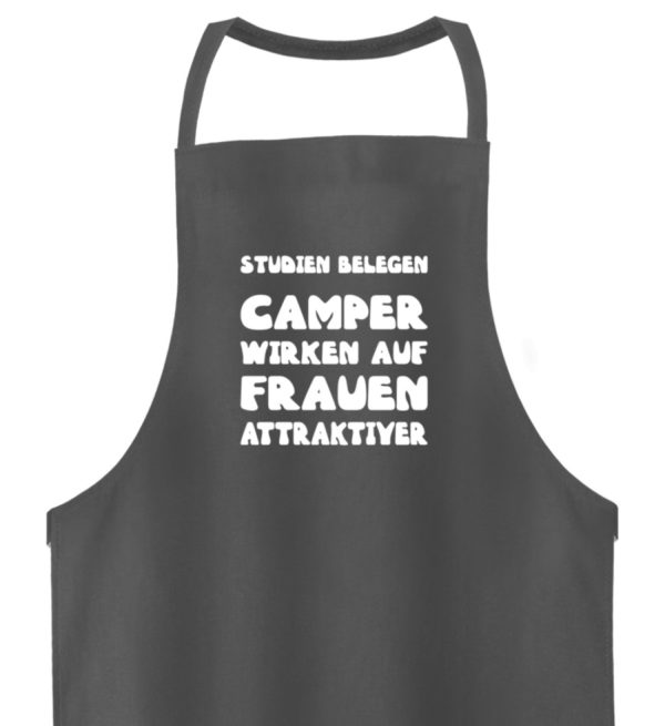 Camper wirken auf Frauen attraktiver - Hochwertige Grillschürze-6778